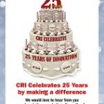 25th Anniversary Flyer-small cake